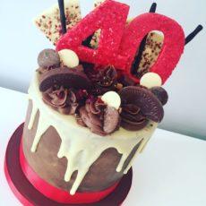 торт на 40 лет