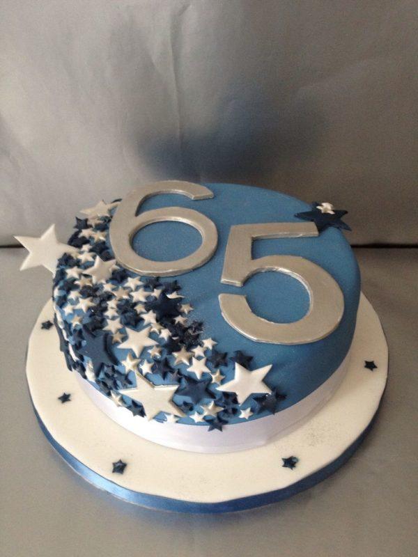 торт на 65 лет мужчине