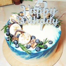 торт на 25 лет
