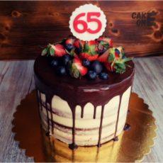 торт женщине на 65 лет