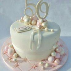 торт на 60 лет женщине