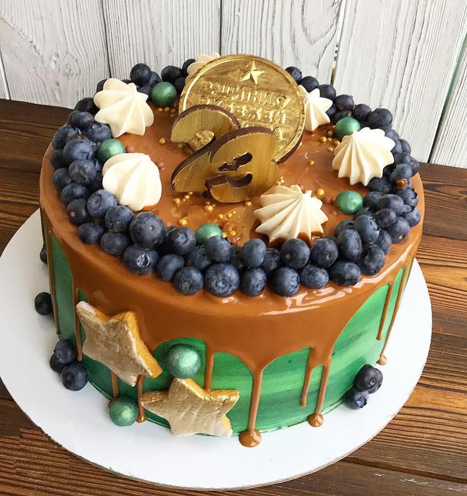 23 Торт на 23 февраля заказать не забудь! А мы уже начинаем выпекать торт для Вас!