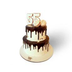 торт на 55 лет женщине