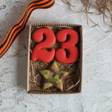 праздничный пряник на 23 февраля