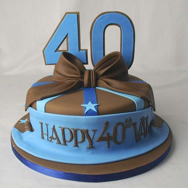 торт на 40 лет мужчине