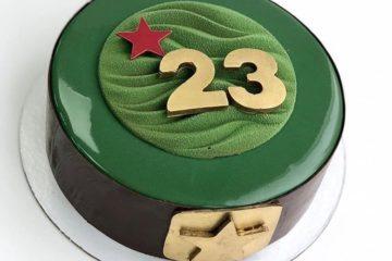 простой торт на 23 февраля