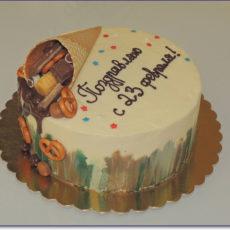 торт для защитника