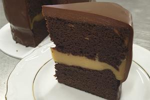 Торт шоколадкарамель Торт в наличии от Бон Бриошь