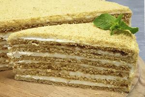 МЕДОВЫЙ Торт в наличии от Бон Бриошь